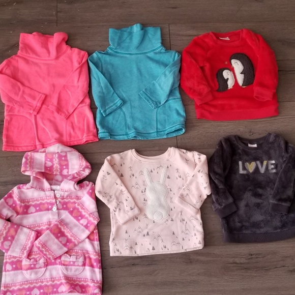 jumping beans Other - Lot of 6 toddler sweatshirts size 18 months